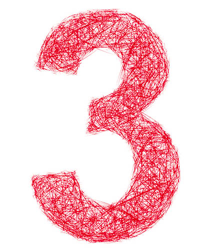 Die Drei ist eine tolle Zahl!